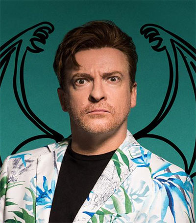 Bird-Brain Comic Rhys Darby All in a Flap