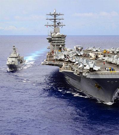 US Sailor Amazed Onboard NZ Navy Frigate