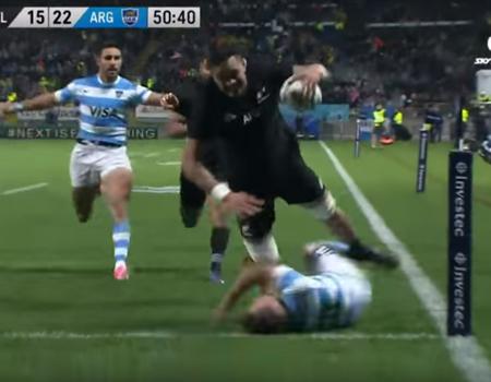All Blacks vs. Argentina Highlights