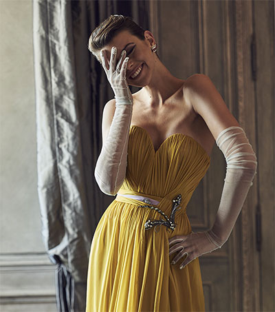 Georgia Fowler Stars in Haute Couture Shoot