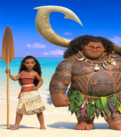 Translated Moana Bolsters Maori Language