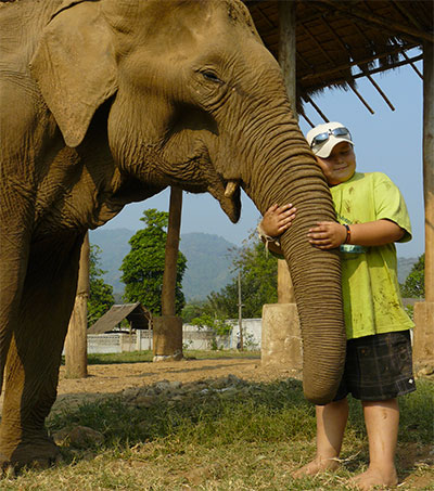 Teen Plans to Open Elephant Sanctuary in Thailand