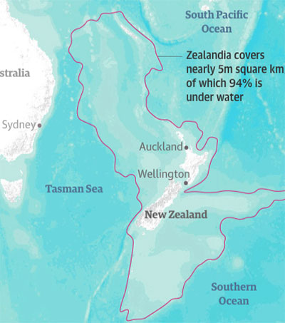Drilling Reveals Secrets of Sunken Lost Continent
