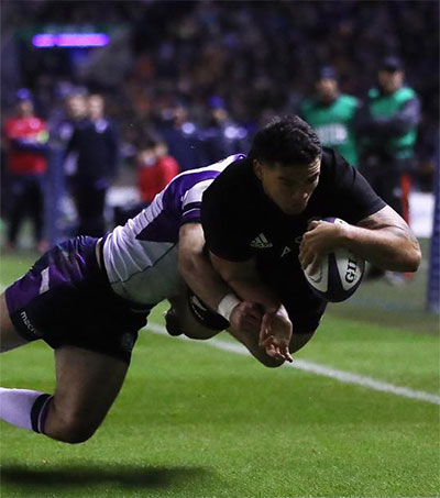 Scots Impress But NZ Class Tells
