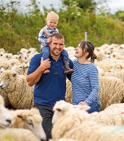 Farming Couple Matt and Pip Smith Enter New Market
