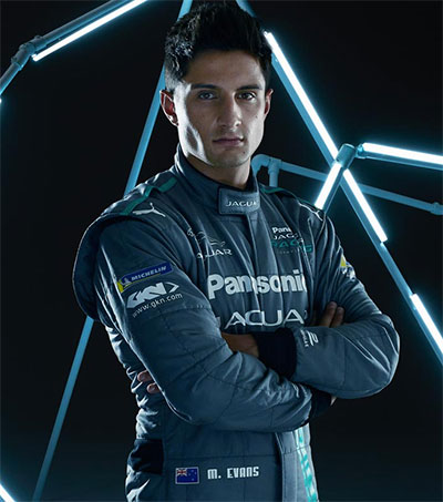 Formula E Driver Mitch Evans an Exceptional Talent