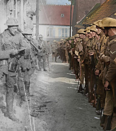 Peter Jackson Brings WWI to Life With New 3D Film