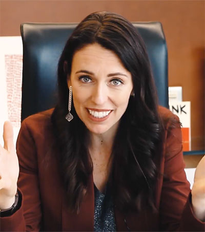 PM Jacinda Ardern Plays down Her Pregnancy News