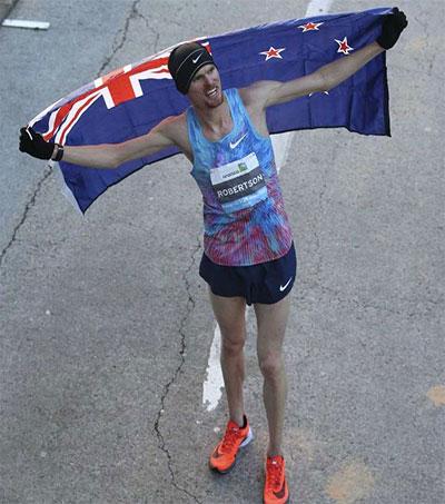 Houston Half Marathon Win for Jake Robertson