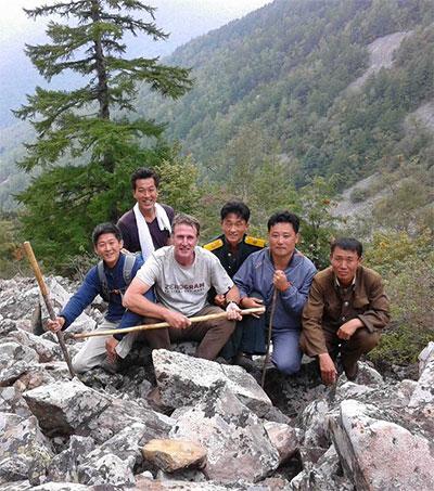 Roger Shepherd Shares Love for Korea's Mountains