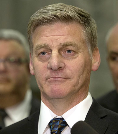 Former PM Bill English Quits Politics