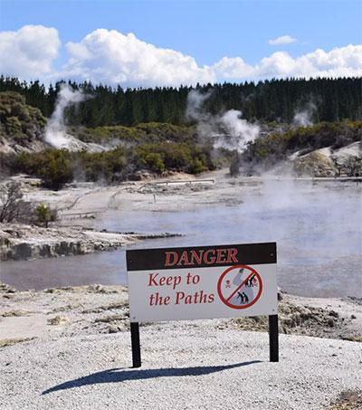 Rotorua the Southern Hemisphere's Yellowstone