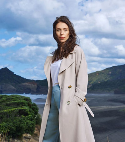 Jacinda Ardern Graces Vogue's Pages