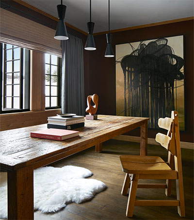 Aspen Chalet Gets the Sandra Nunnerley Touch