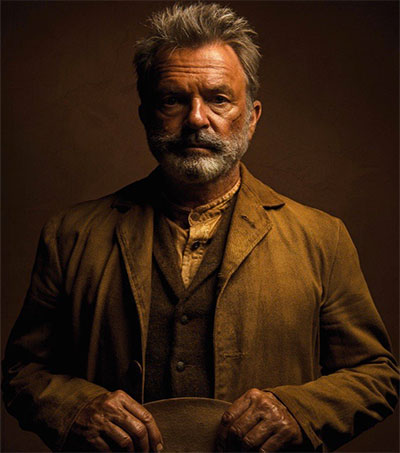 Actor Sam Neill Stars in His First Western