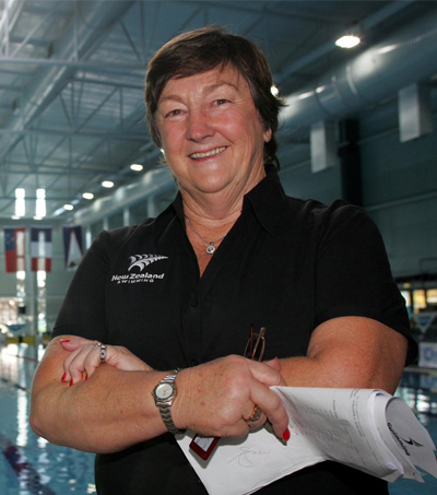 Top Swim Coach and Olympic Medallist Jan Cameron
