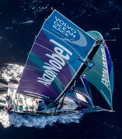 James Blake Onboard Reporter in Volvo Ocean Race