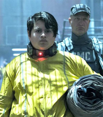Actor Julian Dennison is Firefist in Deadpool 2