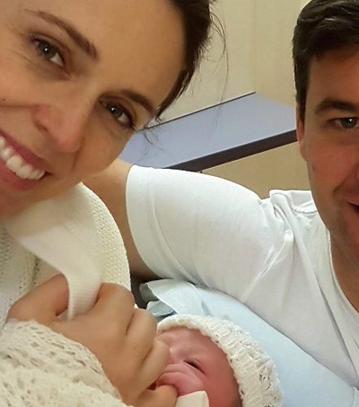 NZ's Leader, Jacinda Ardern, Delivers Baby Girl