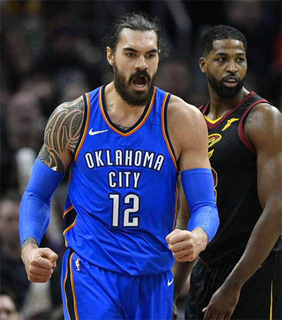 Steven Adams One of World's Highest Paid Athletes