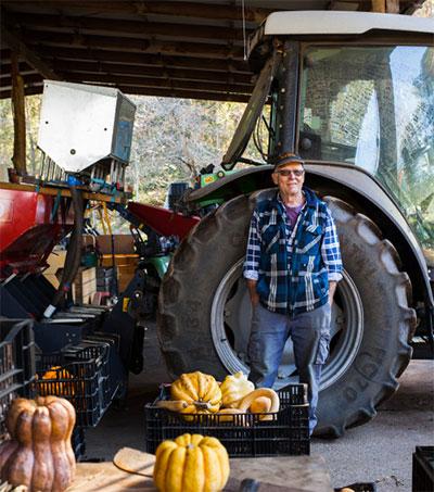 Farmer Rick Scoones Supplying Perth's Eateries