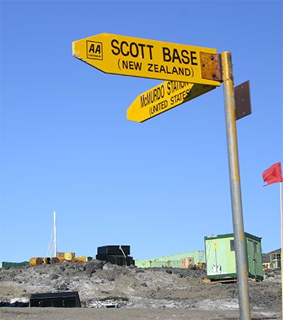 Geopolitics and New Zealand's Antarctic Presence