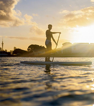 Auckland and Stand Up Paddling a Perfect Match