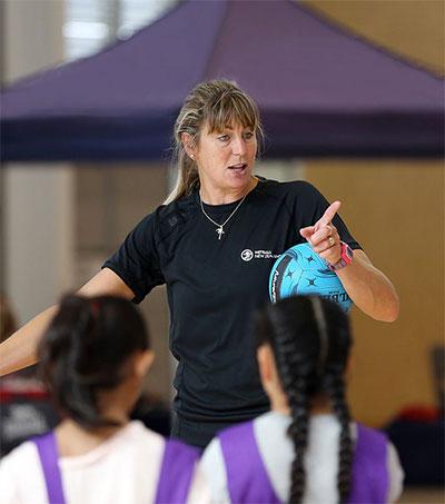 Netballer Irene van Dyk Holds Clinics in Jamaica