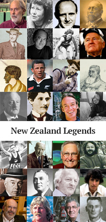 Top New Zealand Legends