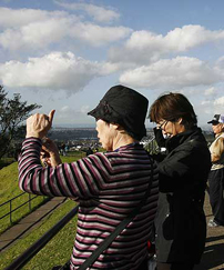 Chinese Tourists Flock