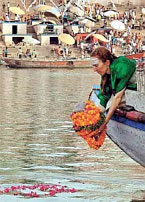 Goodbye on the Ganga