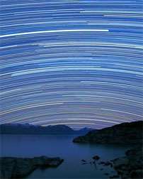 Streaking Star Trails