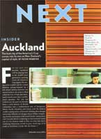 """If It's Made in Auckland It Looks Like the Future"""