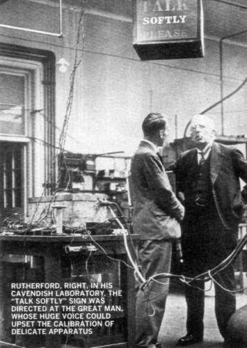 Ernest Rutherford at the Cavendish Laboratory
