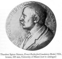 Ernest Rutherford Laboratory Medal 1924