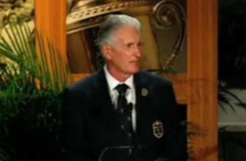 Sir Bob Charles' Induction to World Golf Hall of Fame