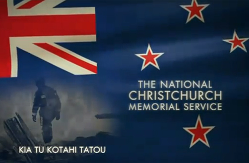 National Christchurch Memorial Service