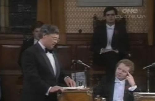 Oxford Union Debate: David Lange