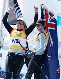 Serene Sailing Wins Gold