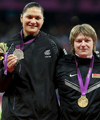 Valerie Achieves Olympic Goal