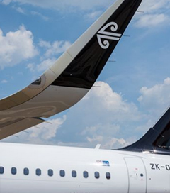 All Eyes on Air New Zealand at Paris Air Show