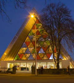 Christchurch Cardboard Cathedral Opens