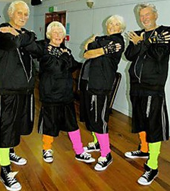 Waiheke Island's World's Oldest Dance Crew Performs at World Championship