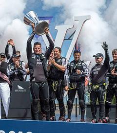 Team New Zealand Win Louis Vuitton Cup