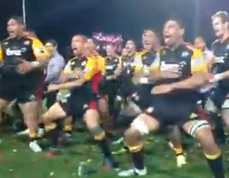 Chiefs Haka – Super Rugby Final 2013