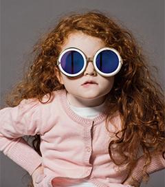 Pre-schoolers Star in Karen Walker Eyewear Campaign