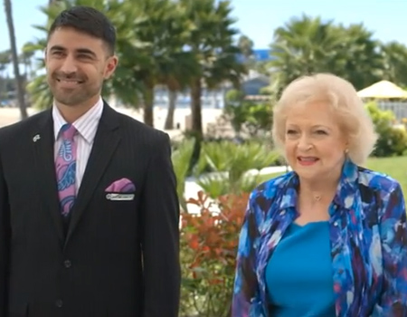 Air NZ: Betty White – Safety Old School Style