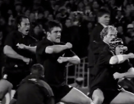 All Blacks' Haka Adidas Ad