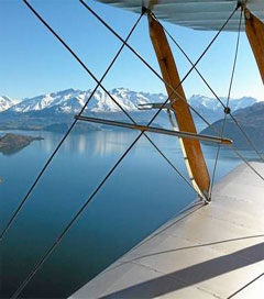 Wanaka Aerobatics in a Vintage Tiger Moth
