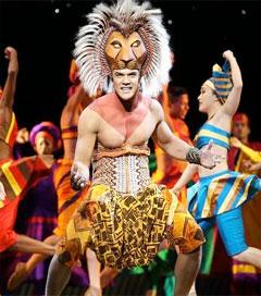 Simba Impresses in Sydney Lion King Production